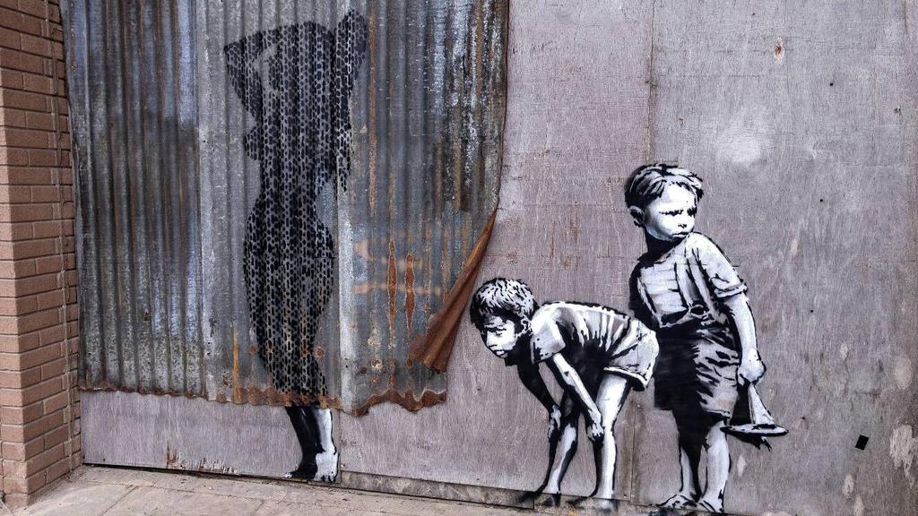 Banksy by NeverenderDesign