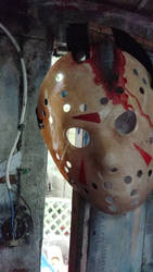 Friday the 13th Part 4 Hockey Mask by NeverenderDesign