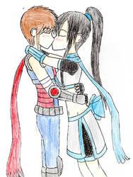 Hotsuma and Kuuru by xRagnaTheBloodedgex
