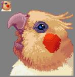 tiel pixel portrait