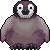 [F2U] emperor penguin chick icon by Shalmons