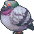 [F2U] rock dove pigeon icon by Shalmons