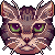 [F2U] cat face by Shalmons