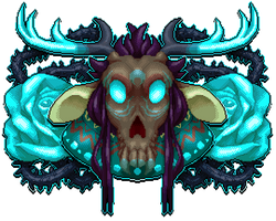 [C] deervious mirrored pixel portrait by Shalmons