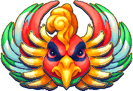 [F2U] ho-oh portrait [pokemon] by Shalmons