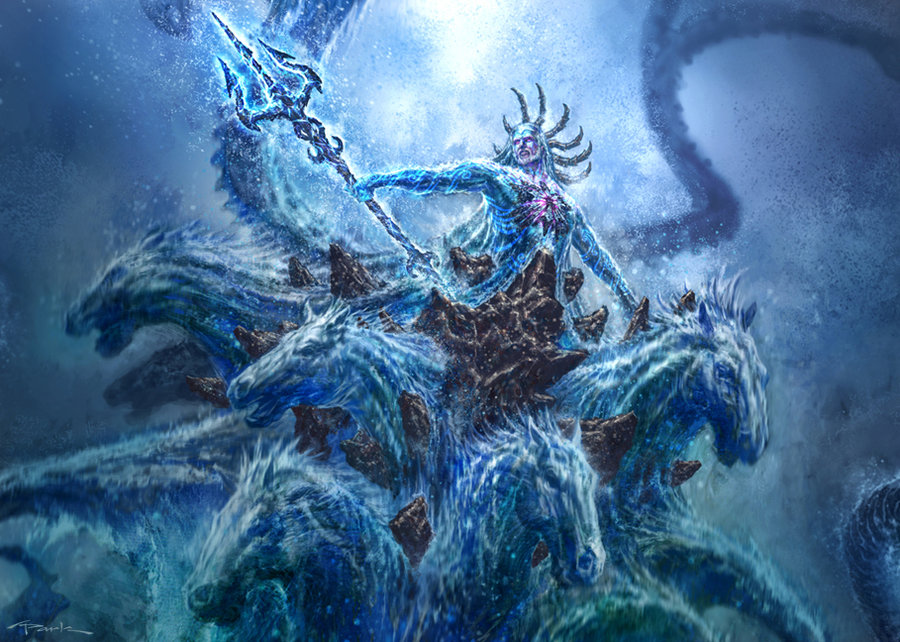 God of war-Poseidon 03 by NichtElf on DeviantArt
