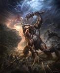 God of War-Kratos Battle