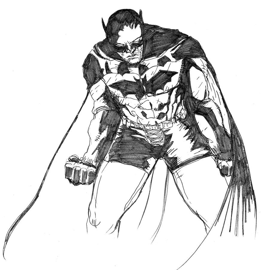 Batman Year 100 by jessemunoz
