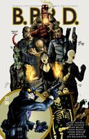 the B.P.R.D. Hellboy Jam by jessemunoz