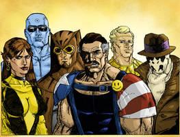 Watchmen Colored by jessemunoz