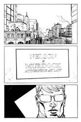 daredevil sample page 1 by jessemunoz