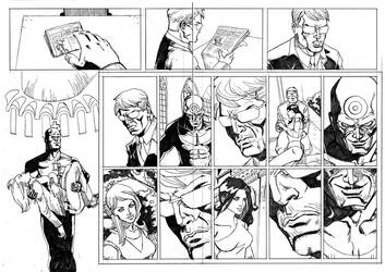 daredevil sample pages 5-6 by jessemunoz