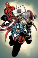 Avengers for Pummel by jessemunoz