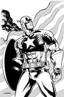 Captain America by jessemunoz