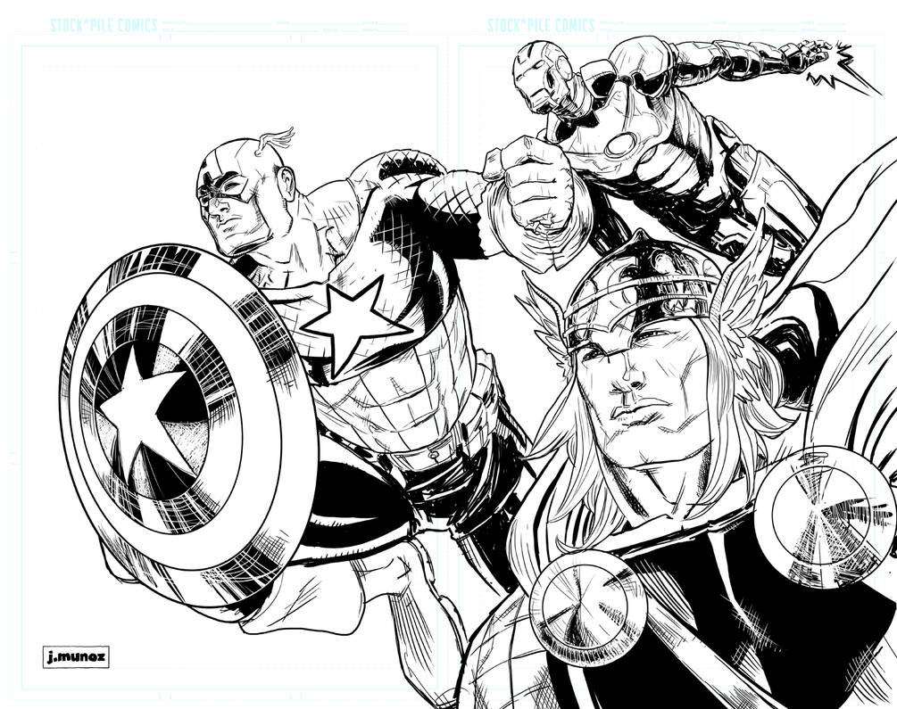 The Avengers 3 by jessemunoz