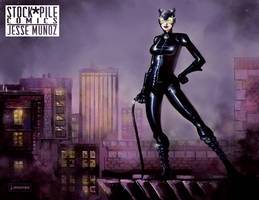 Catwoman by jessemunoz