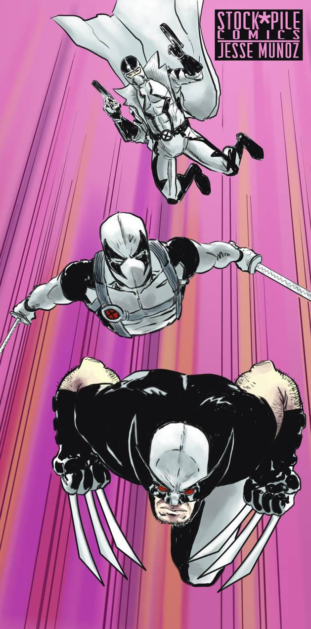 Uncanny X-Force by jessemunoz