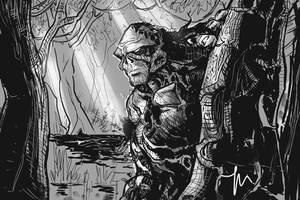 Mister Swampy by jessemunoz