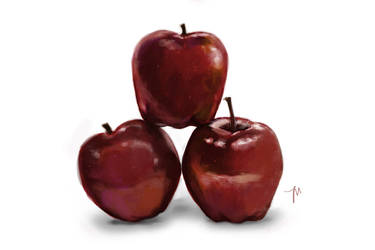 Some Apples by jessemunoz