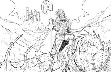A Dragon Slayer by jessemunoz