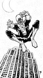 The Amazing Pete Spiderman by jessemunoz