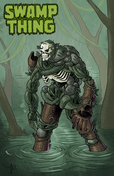 Swamp Thing Redesign