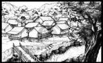 BG trial_village by lotusbiru