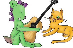 Let's make sweet music together ( Comm ) by Silent-Howls