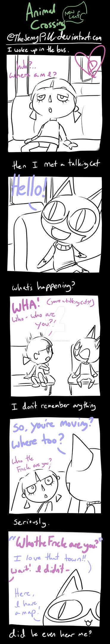 Animal Crossing New Leaf - comic 1