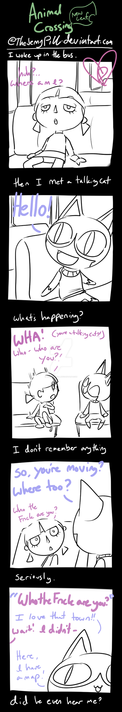 Animal Crossing New Leaf - comic 1 by TheJennyPill