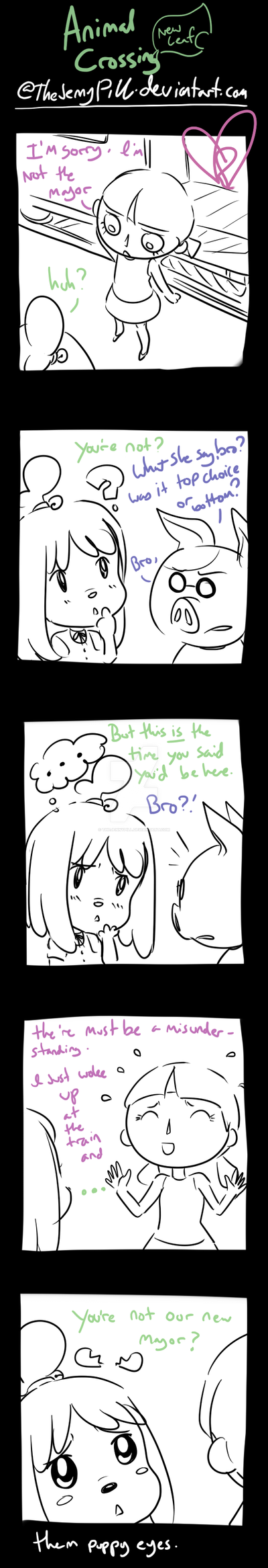 Animal Crossing New Leaf - comic 3 by TheJennyPill