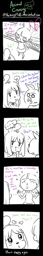 Animal Crossing New Leaf - comic 3