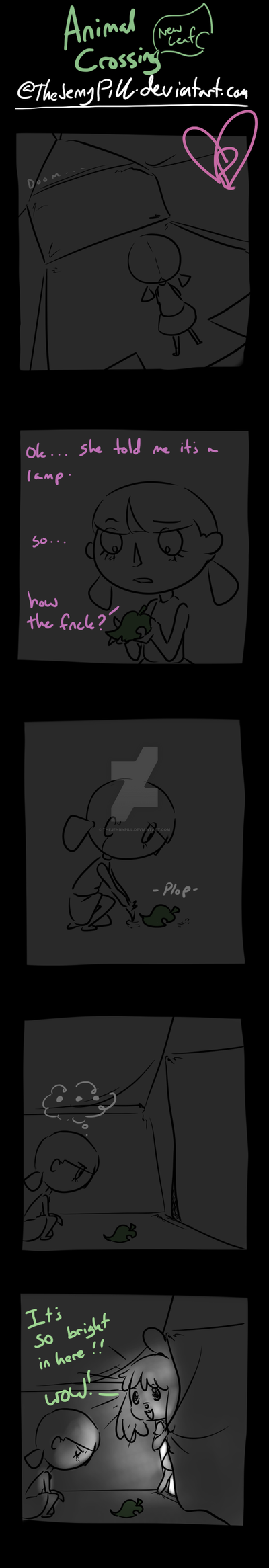 Animal Crossing New Leaf - comic 7 by TheJennyPill