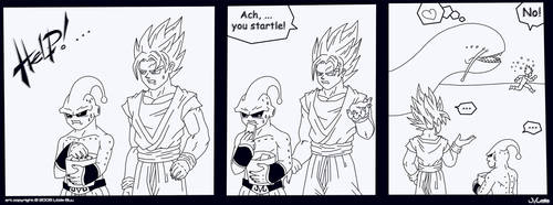 Mini Comic DBZ by LittleBuu