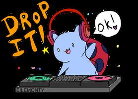 DJ CATBUG by EileMonty