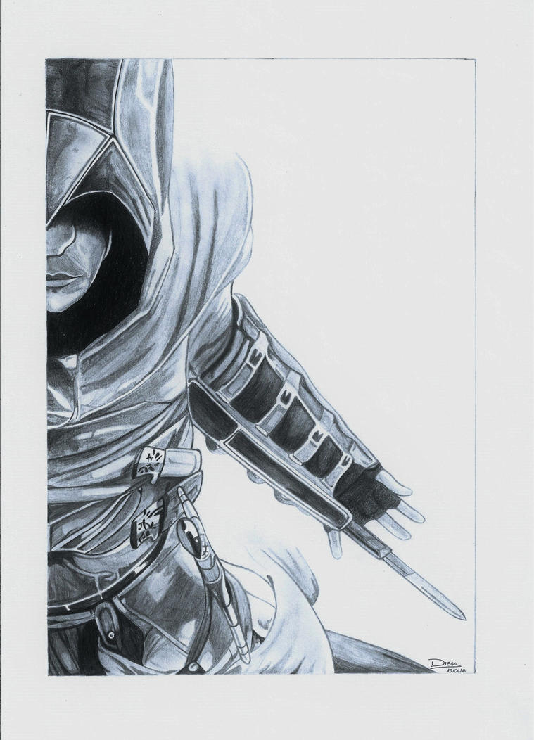 Altair Assassin's Creed by DiegoCR on DeviantArt