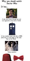 Why you should watch Doctor Who.
