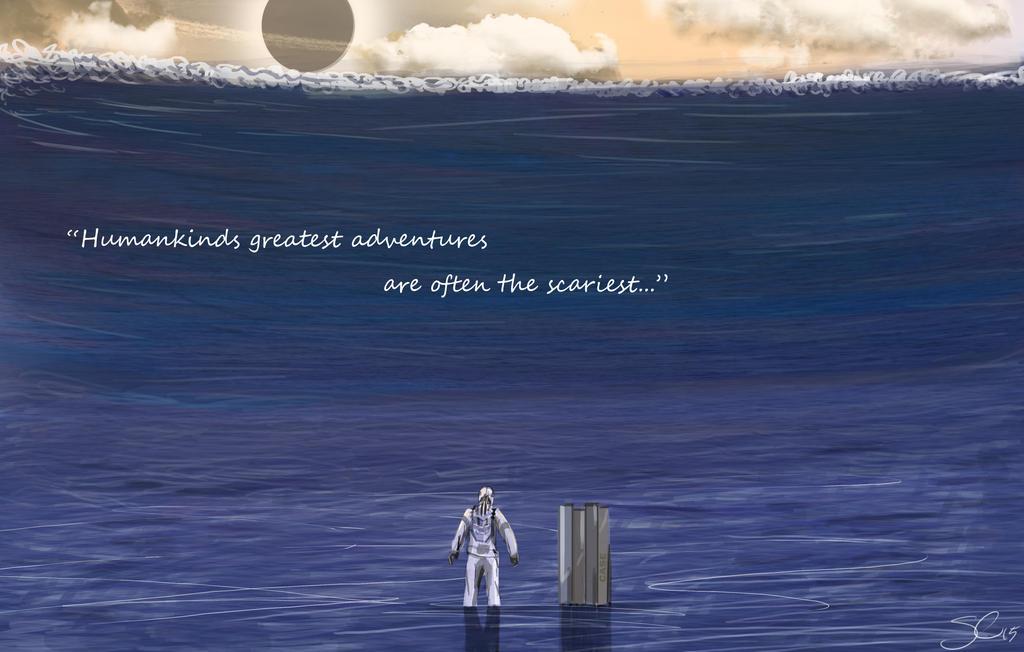 Interstellar Speed Painting by SorinCrecens