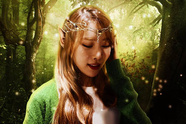 Haebin ~ The Elven Princess by Hattu-Aki