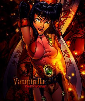 Vampirella by Sivulka