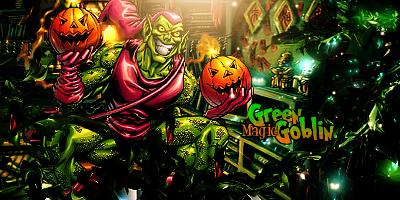 Green Goblin by Sivulka