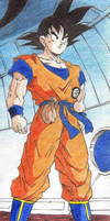Goku by narutomihai