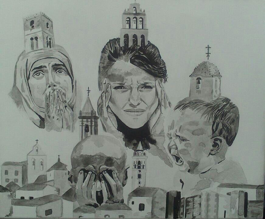 La religion me da dolor de cabeza by ErreDe