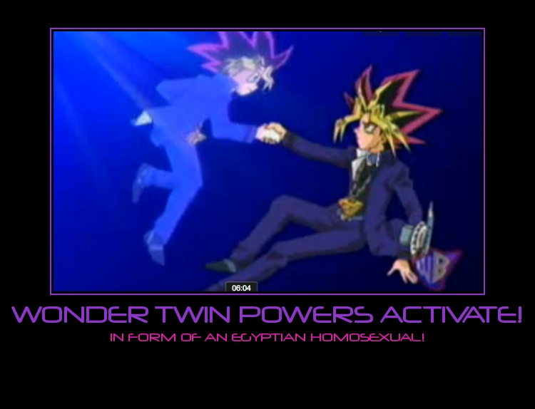 WONDER TWIN POWERS by CanadianGal11