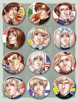 APH - Buttons - New APH Set by alatherna