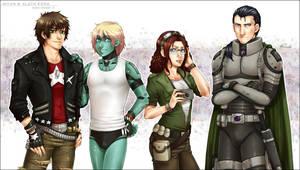 - Bounty Hunters no2 - COM by alatherna