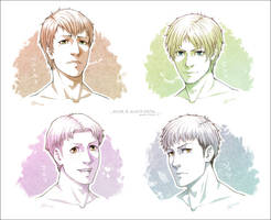 SNK - Shingeki no Portraits - by alatherna