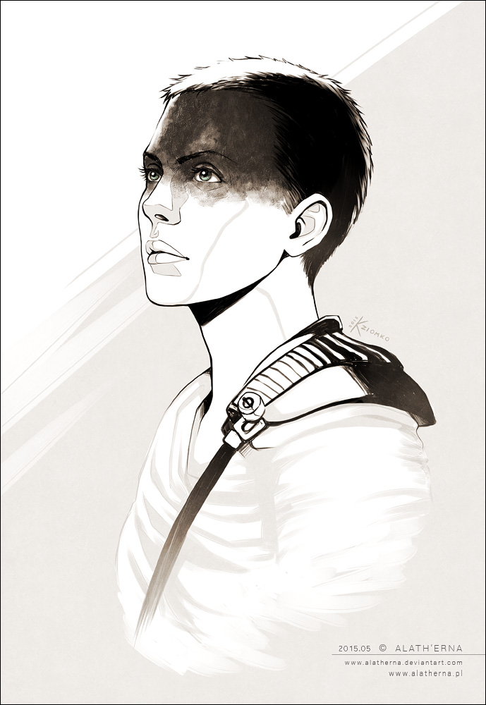 MAD MAX - Imperator Furiosa - by alatherna