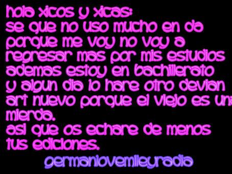 Me voy de DA by GermanLoveMileyRadia