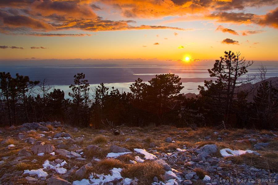 Winter sunset by ivancoric